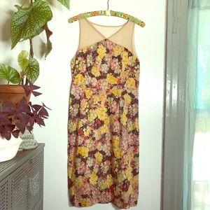 Anthro floral dress